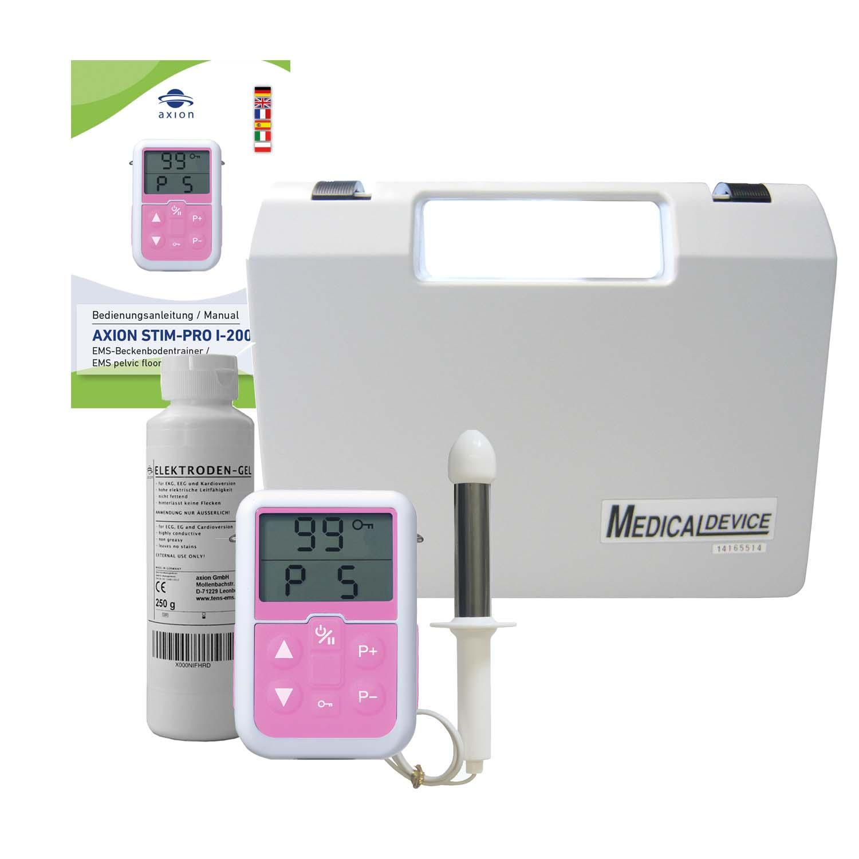 Anal massage using probes not
